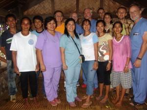 Whole group (at Tagbanua project)