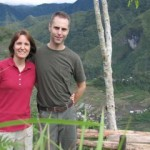 Dwayne and Wendy on a survey trip in the mountains of Luzon