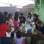Dwayne and nurse volunteers helping with a recent medical mission we were asked to hold during evangelistice meetings in a nearby town