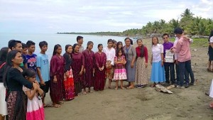 Karusuan and LIGHT students baptism