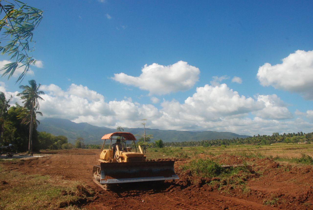 Bulldozing the runway